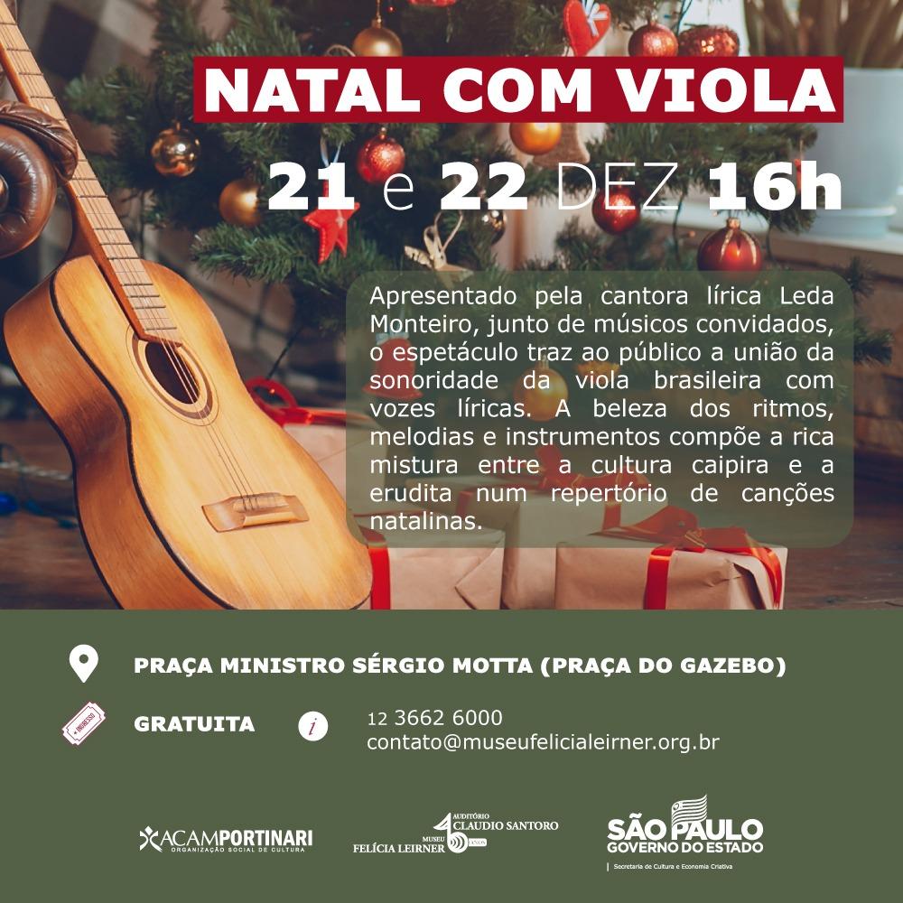 Natal com Viola @ Praça Ministro Sergio Mota (Praça do Gazebo)
