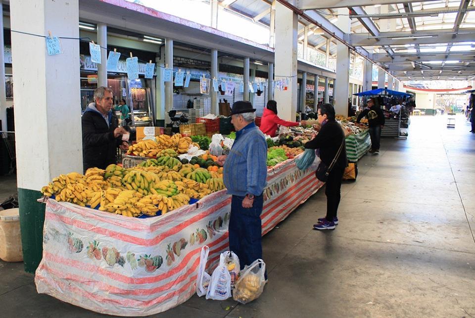 Feira livre com pequenos produtores @ Mercado Municipal de Vila Abernessia