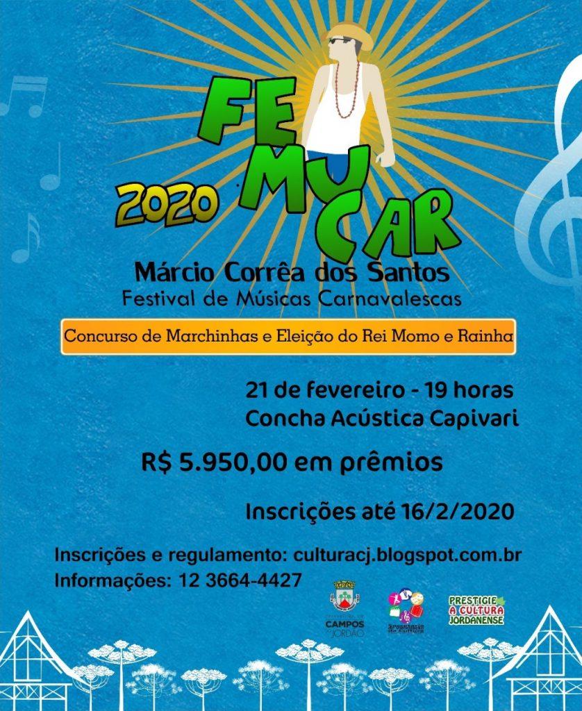 FEMUCAR – Festival de Músicas Carnavalescas Márcio Corrêa dos Santos @ Praça de Vila Capivari