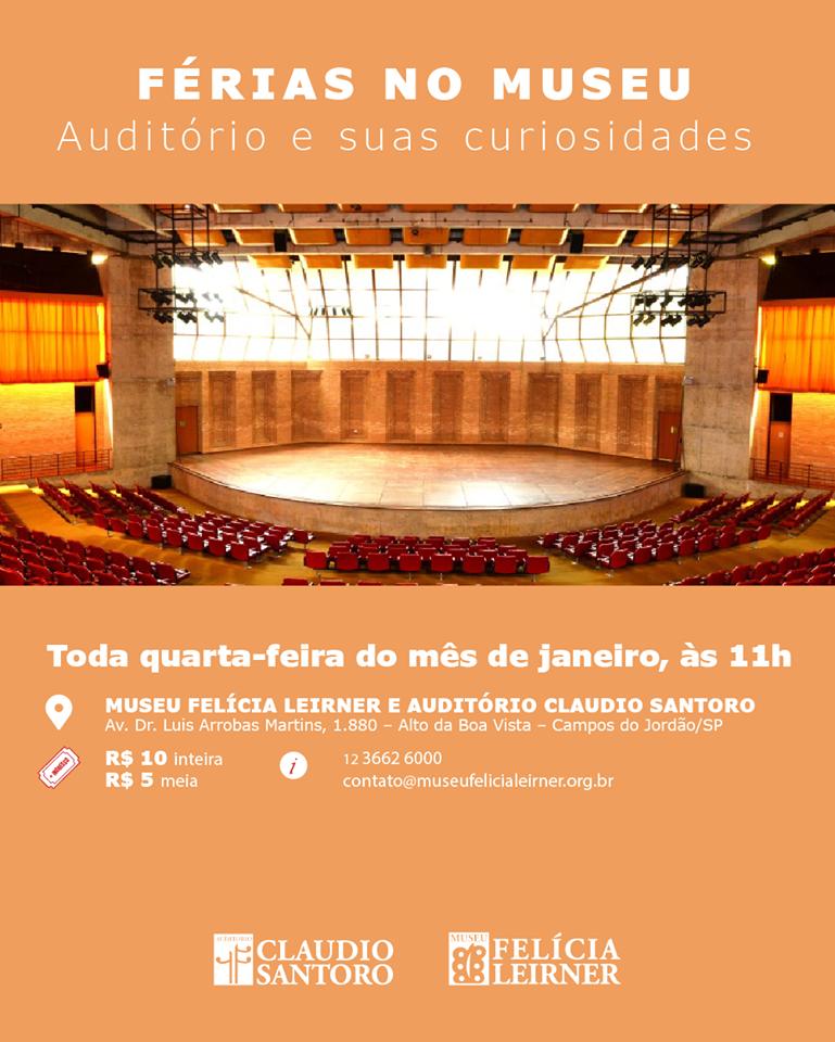 Auditório e suas Curiosidades @ Auditório Claudio Santoro