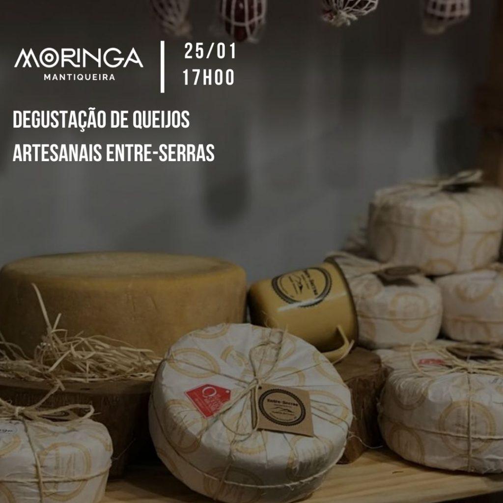 Degustação de queijos artesanais entre-serras @ Restaurante Moringa