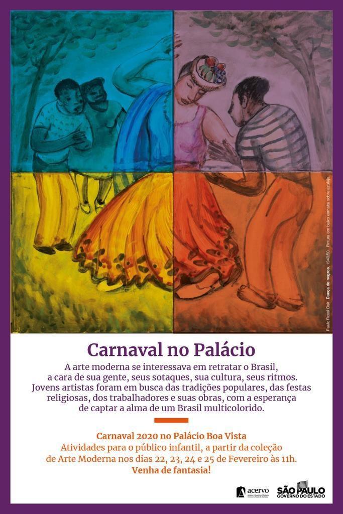 Carnaval no Palácio @ Palácio Boa Vista