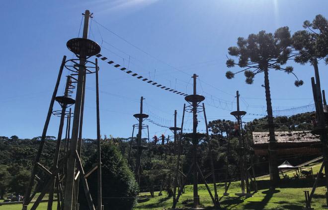 Circuito de Arvorismo do Tarundu - Campos do Jordão