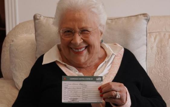 Campos do Jordão começa a vacinar seus idosos com mais de 80 anos