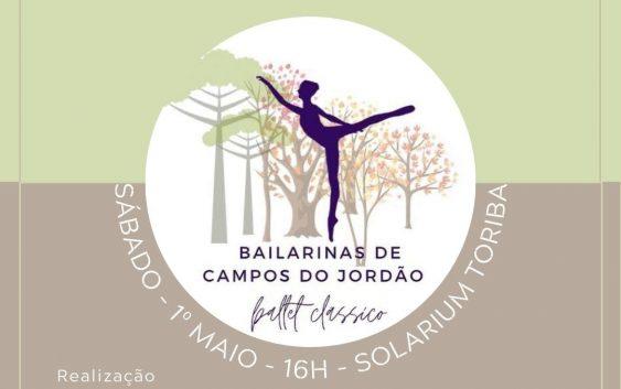 Projeto Bailarinas de Campos do Jordão será lançado neste sábado no Hotel Toriba